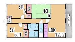 きれいな外観の広々3LDKです^^案内は現地待ち合わせ可^^ 901の間取