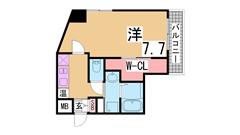 オートロック・宅配BOX付の築浅マンション IH2口に変更 504の間取