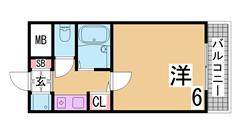 ランドマークシティ神戸西元町 601の間取