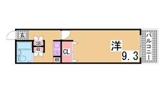 西神糀台ミオ 205の間取