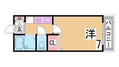 敷金礼金0円^^IHキッチン・賃料も下げました^^室内美麗^^ 109の間取