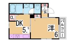 閑静な住宅街^^3点セパ^^3駅有効利用^^インターネットが半額で利用可^^ 101の間取