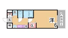 人気の分譲賃貸^^システムキッチンガス2口・オートロック・宅配BOX付き^^ 1202Cの間取