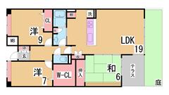 人気の西神中央徒歩圏の広々ファミリータイプ^^広いリビングシステムキッチン^^ 101の間取