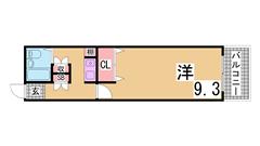 西神中央駅すぐの広々1K^^生活便利^^案内は現地待ち合わせ可^^ 310の間取