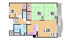 仲介手数料・礼金・更新料0円^^小・中学校も近くマンション下に公園も有り^^ 702の間取
