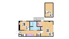 インターネット無料^^駅近 システムキッチン シャンプードレッサー 浴室乾燥  4-Cの間取
