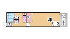 西神糀台ミオ 207の間取