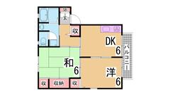 駐車場なんと1万円 閑静な住宅地 大型バイクも無料で駐輪OK C201の間取