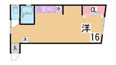 敷金礼金0円^^角部屋^^室内はきれいなリノベーション物件^^ 302の間取