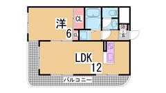 室内大改装^^システムキッチン^^コンビニ・スーパー・駅すぐ 602の間取