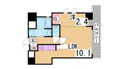 垂水駅徒歩圏のデザイナーズ^^初期費用もおさえれるプランです^^ 203の間取
