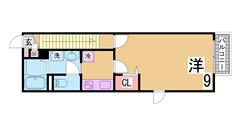 ラフィーネ神戸 North Wing 208の間取