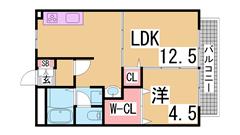 敷金0円の室内リノベーションハイツ^^コープもすぐの閑静な住宅街^^ 103の間取