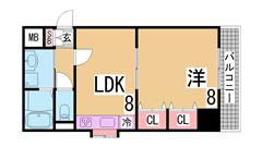 H21年室内大型リノベーション^^室内は新築とかわりません^^ 310の間取