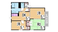 駐車場代賃料に込み 大手ハウスメーカー施工の人気のハイツ A201の間取
