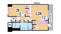 アーバネックス神戸駅前 202の間取