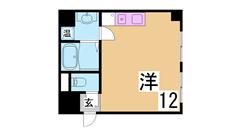 人気の追焚き付機能付きマンション^^二口システムキッチン・浴室乾燥^^ 401の間取