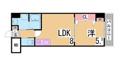 築浅物件・システムキッチン・陽当り良好・EV・AL・追い焚き機能^^ 303の間取