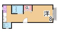 兵庫駅近くの人気のファミリーマンション^^オートロック・EV付き^^ 801の間取