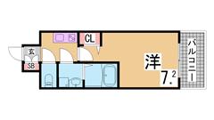 ペットOK^^築浅^^駐車場1台込^追焚・システムキッチン・エコジョーズ採用^^ 201の間取