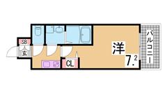 ペットOK^^追焚機能・ウォークインクローゼット付マンション^^ 102の間取