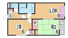 室内綺麗にリフォーム済み マンションタイプでこのお家賃はお得です 202の間取