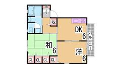 駐車場なんと1万円 閑静な住宅地 大型バイクも無料で駐輪OK C101の間取