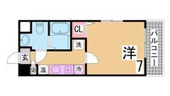 ペットOK^^岡場駅・有馬温泉も車ですぐ^^案内は現地待ち合わせ可^^ 306の間取