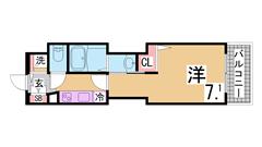 浴室TV・追焚・床暖房など充実設備^^ネット・セコム無料^^ 502の間取