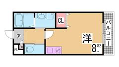 人気のエレベーター付マンション^^ウォークインCL^^室内リフォーム済み^^ 104の間取