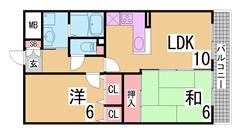 AL・エレベーター^^カウンターキッチン^^室内きれいにリフォーム済み^^ 202の間取