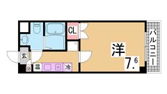 敷金礼金更新料0円^^保証人・保証会社・仲介手数料不要^^ 3-202の間取