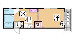広々3LDK^^閑静な住宅街^^室内美麗^^ 205の間取