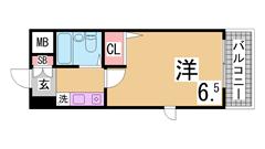 オートロック エレベーター 防犯カメラ 人気の分譲賃貸 駅も近く便利です 501の間取