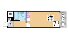 オール電化^^エアコン2基・システムキッチン・ウォークインクローゼット付設備充実 105の間取