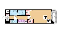 人気の新長田^^コンビニ・スーパー・駅すぐ^^システムキッチン・追焚付^^ 302の間取