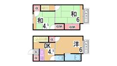 兵庫駅近くの人気のファミリーマンション^^オートロック・EV付き^^ 301の間取