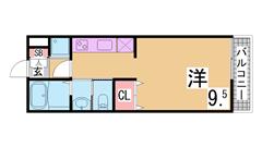インターネットホームセキュリティ『アイルス』導入 システムキッチン・宅配BOX 207の間取