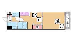 駅1分^^システムキッチン^^三点セパレート・オートロック付マンション^^ 210の間取