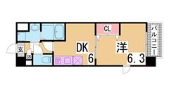 人気の築浅マンション 大型キッチン 三点セパレート 駐車場も空き有^^ 201の間取
