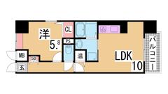 垂水駅周辺の大人気ファミリーマンション^^全戸南向き^^カウンターキッチン^^ 501の間取