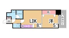 トイレ・風呂は共同 駐車場セット契約なら賃料2千円ダウン^^ 203の間取