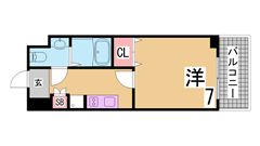 駐車場3千円 ペット(犬猫)OK 敷金礼金なし 人気のリノベーションマンション 409の間取