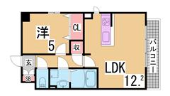 敷金・礼金・インターネット料金0円^^駅1分の人気の築浅マンション^^ 107の間取
