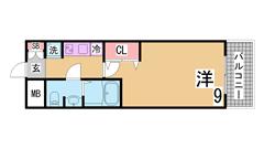 敷金・礼金・インターネット料金0円^^駅1分の人気の築浅マンション^^ 704の間取