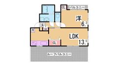 フルリノベーション物件^^山陽・JR垂水駅まで徒歩圏で生活しやすい地域^^ 303の間取