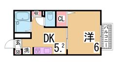 駐車場1台付き^^保証人不要^^室内美麗^^条件交渉可^^ D108の間取