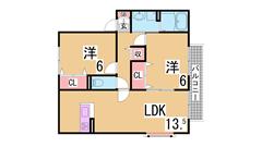 カウンターキッチン 追焚 オール洋室 システムキッチン 大手ハウスメーカー施工 B202の間取