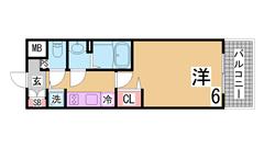 人気の大手施工の分譲マンション 設備充実のリーズナブルマンション 511の間取
